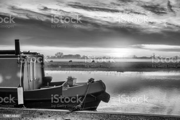 River Great Ouse At Sunrise Stock Photo - Download Image Now