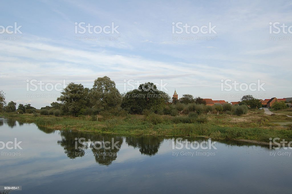 River Havel royalty-free stock photo