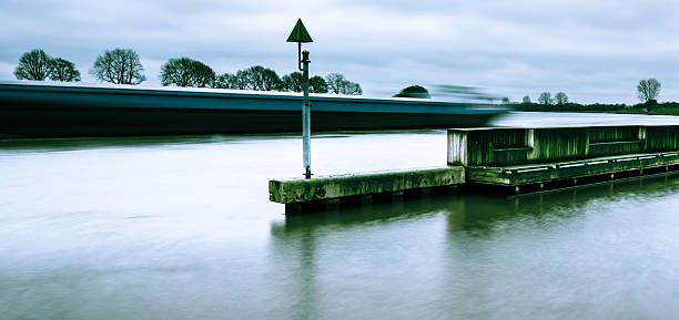 River Highway stock photo