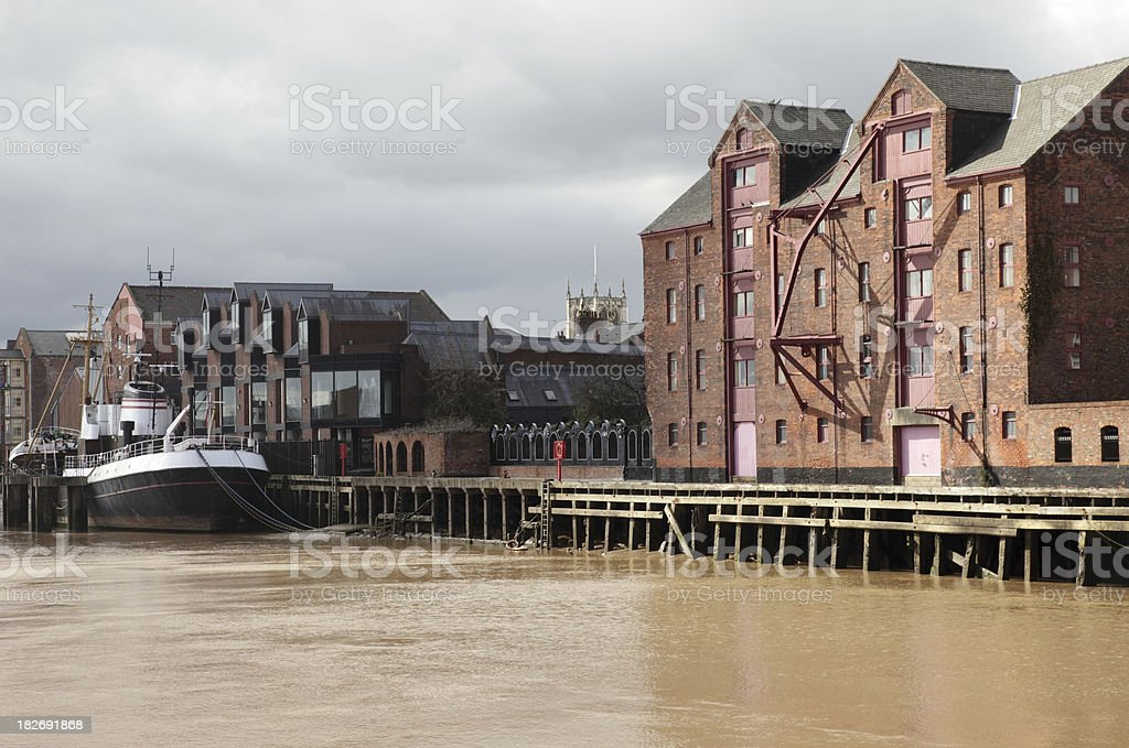 River Hull stock photo