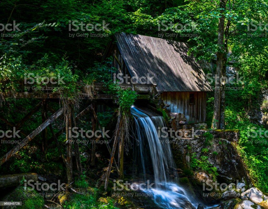 강 오스트리아에 - 로열티 프리 0명 스톡 사진