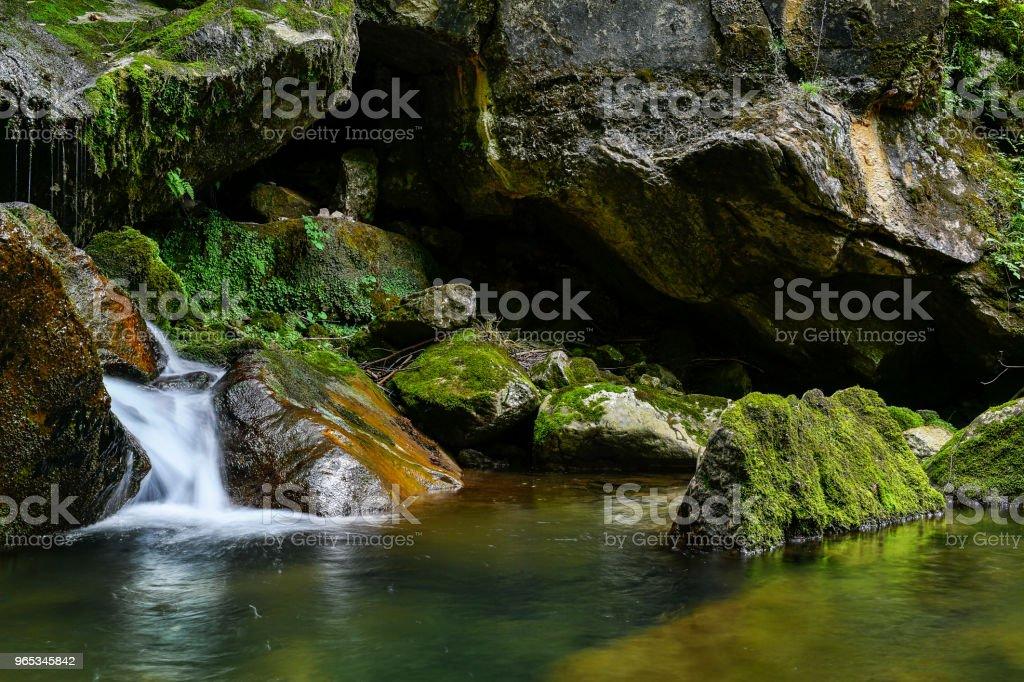 河在奧地利 - 免版稅大自然圖庫照片