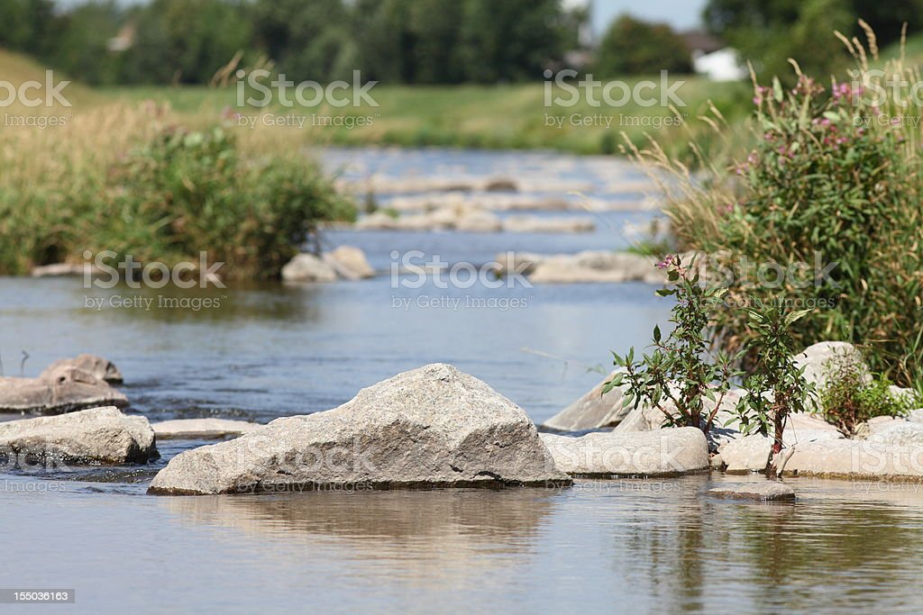 river in mountains royalty-free stock photo