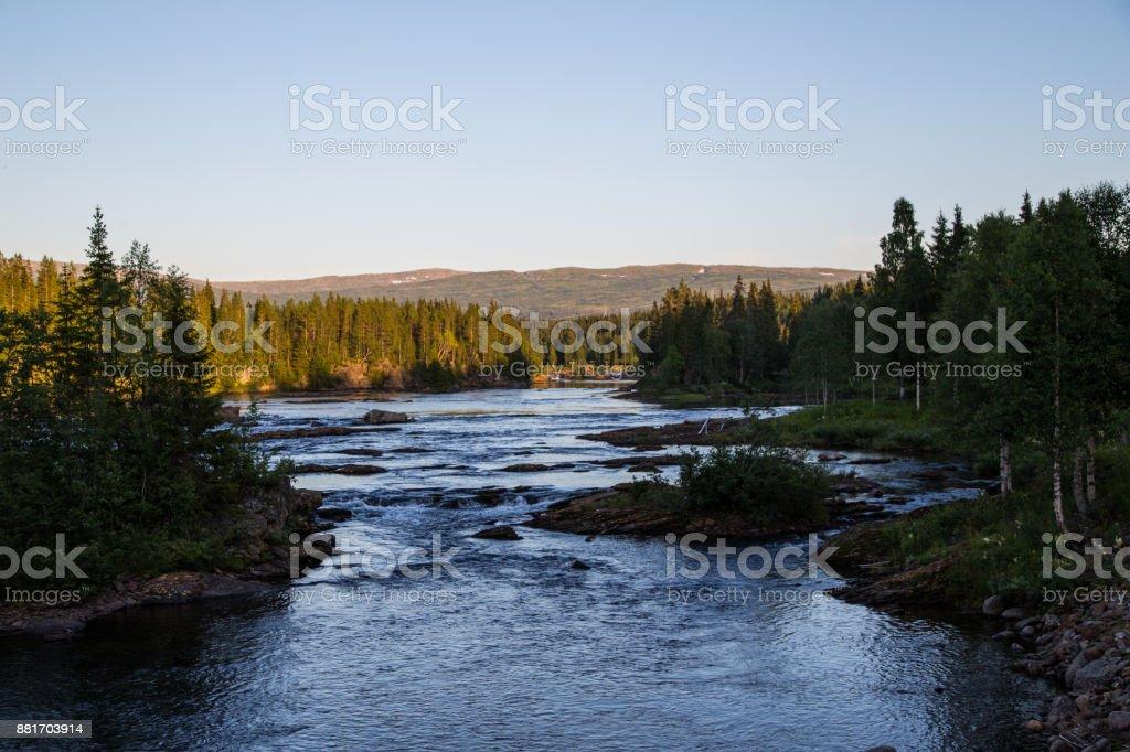 River in Norwegen – Foto