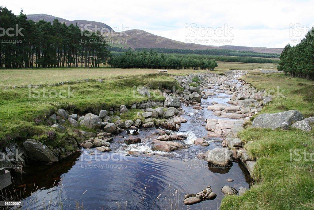 강 스코틀랜드 하이랜드 royalty-free 스톡 사진