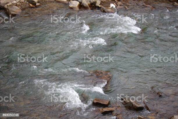 Photo of river in the mountains