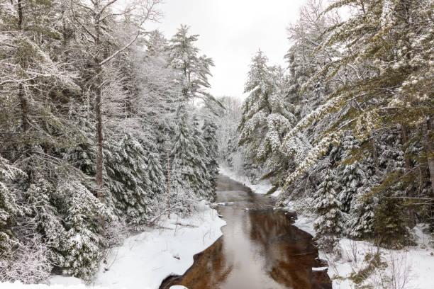 River in Winter Wonderland