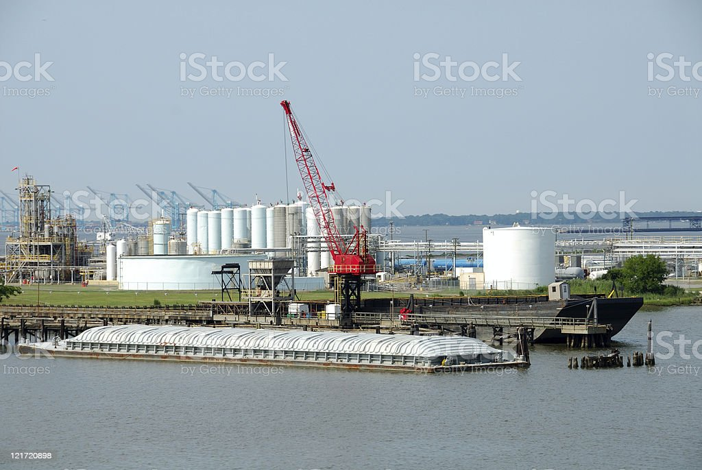 River Industry royalty-free stock photo
