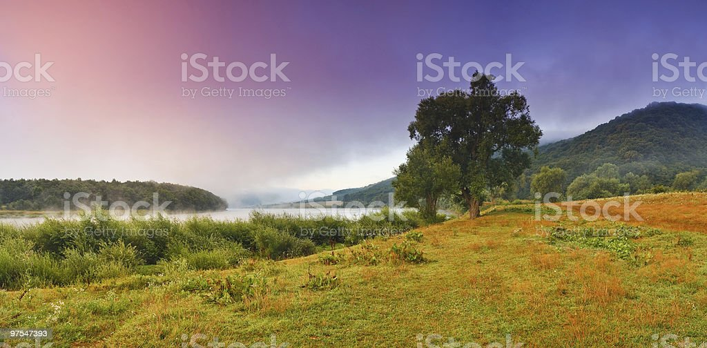 river landscape royalty-free stock photo