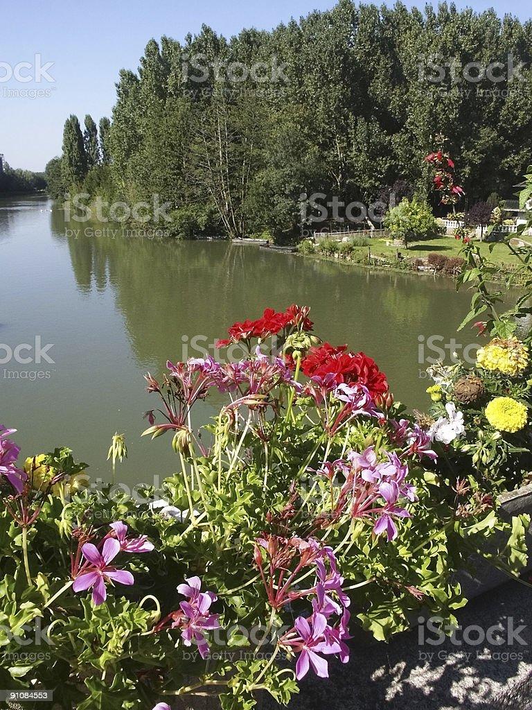 river loir royalty-free stock photo