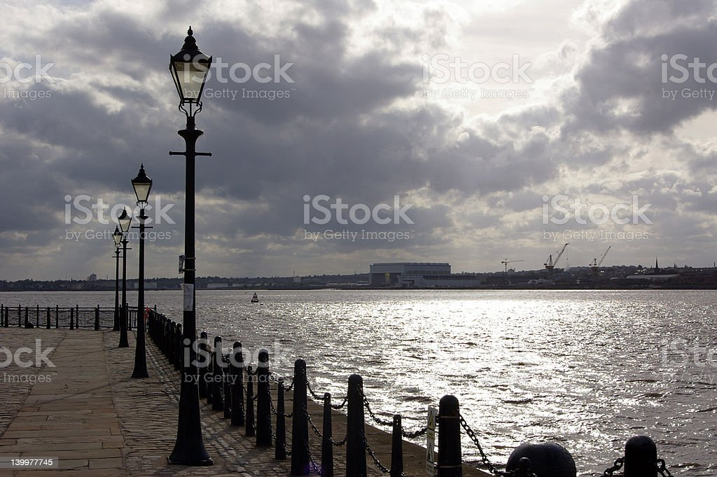 River Mersey 01 royalty-free stock photo