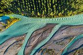 Wairau valley, Wairau river, Marlborough, South Island, New Zealand.