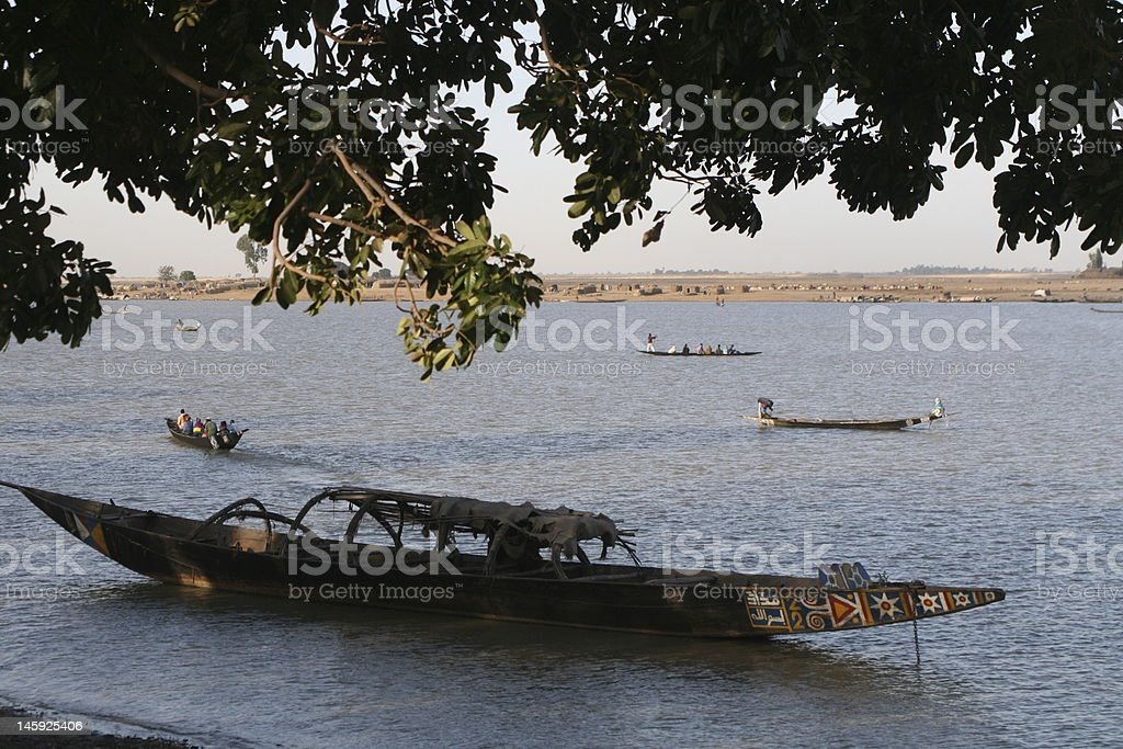 River Niger royalty-free stock photo