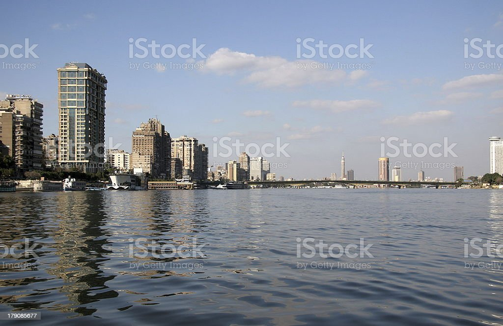 River Nile, Cairo royalty-free stock photo