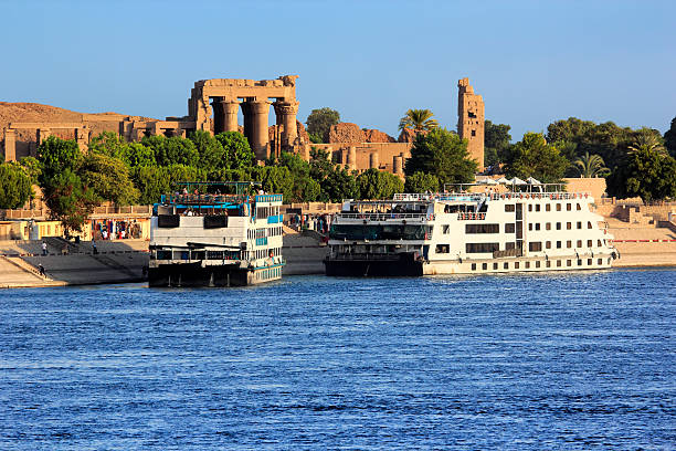 Nil-Kreuzfahrtschiffe – Foto