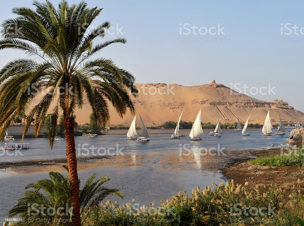 River Nile stock photo