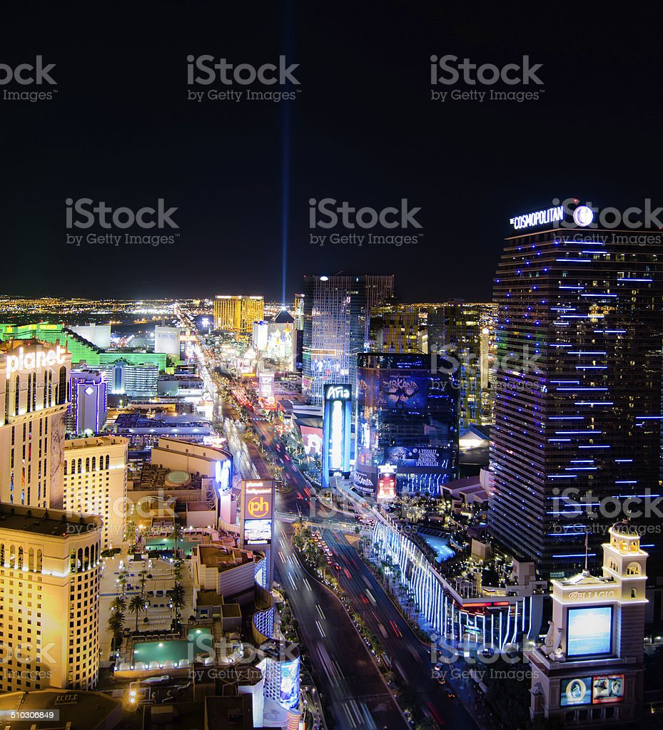 River of Las Vegas stock photo
