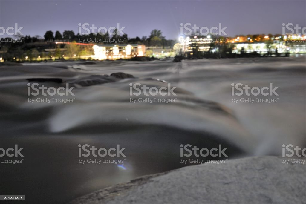 river of silk stock photo