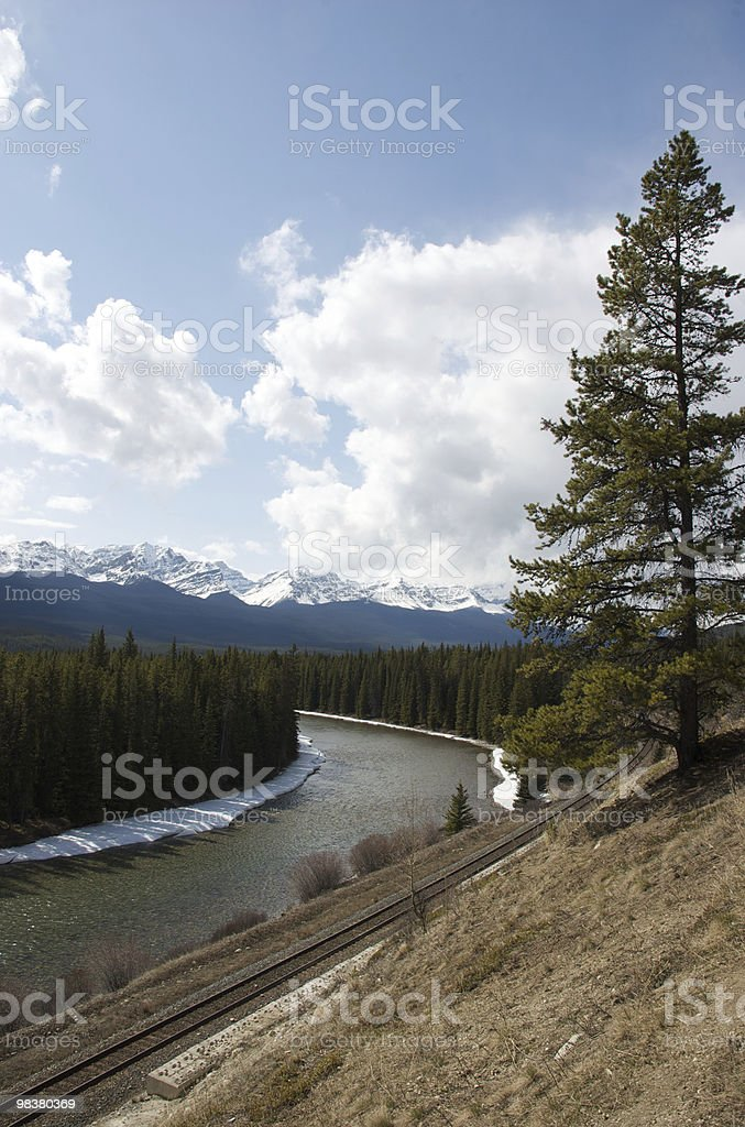 River or Rail? royalty-free stock photo