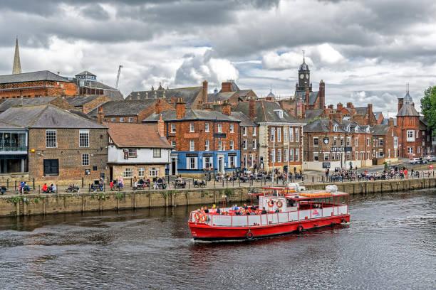 River Ouse York stock photo