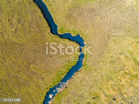 istock River passing through a green savannah landscape 1012411292