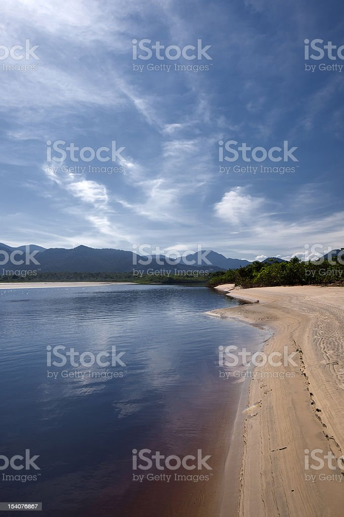 Una River royalty-free stock photo