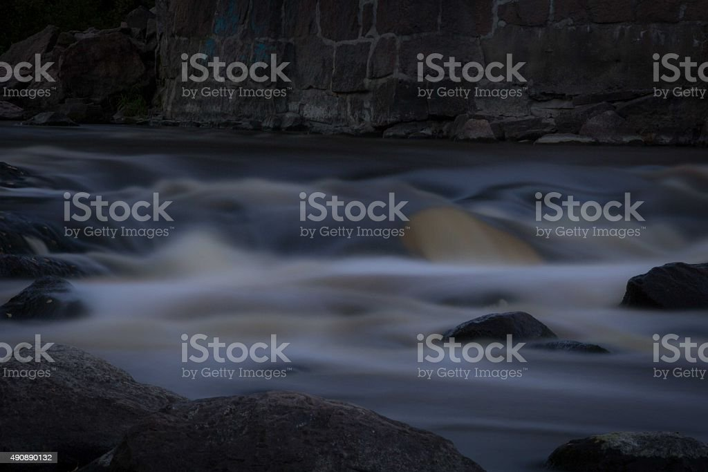 River stock photo
