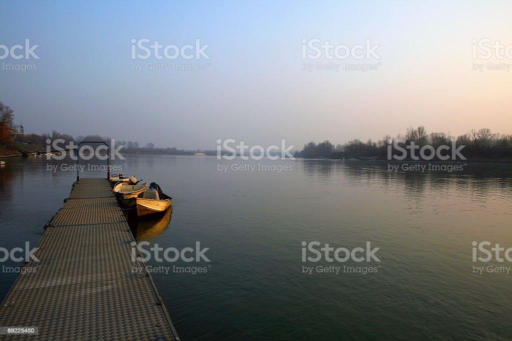 PO river stock photo