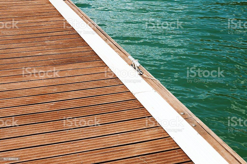 River pier royalty-free stock photo