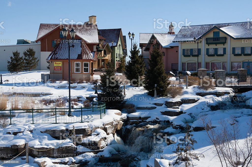 River Place Shopping District, Frankenmuth, Michigan royalty-free stock photo
