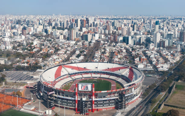 River Plate stadium stock photo