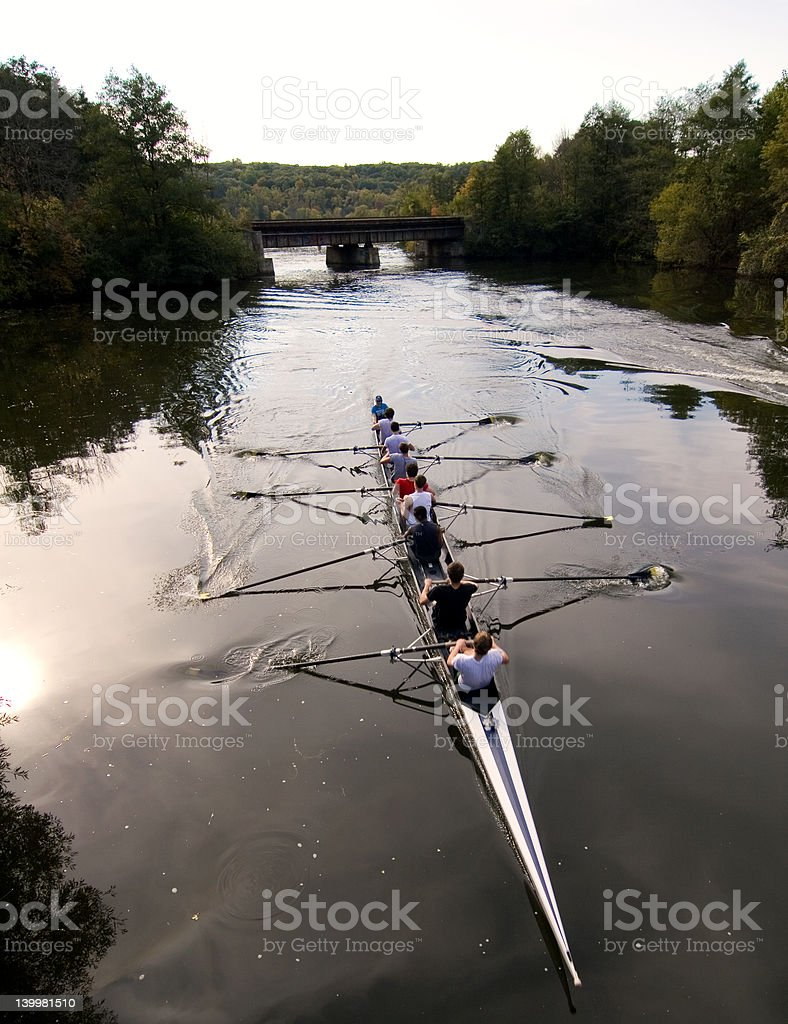 River race royalty-free stock photo