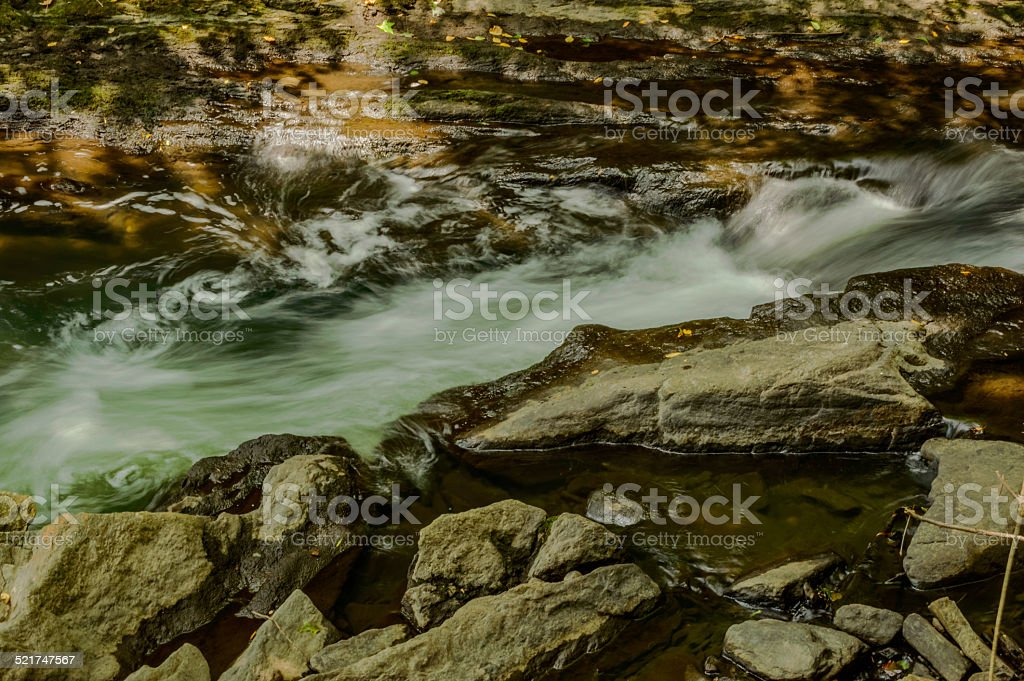 River Rapids and Pools stock photo