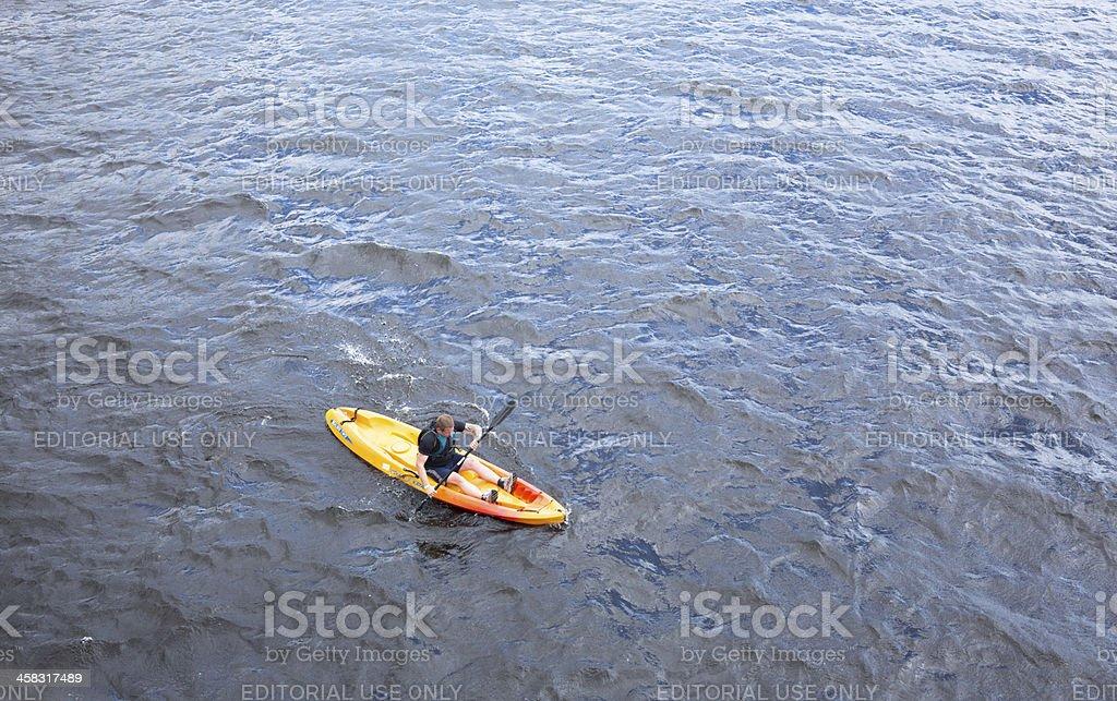 River Rat Race, Glasgow stock photo