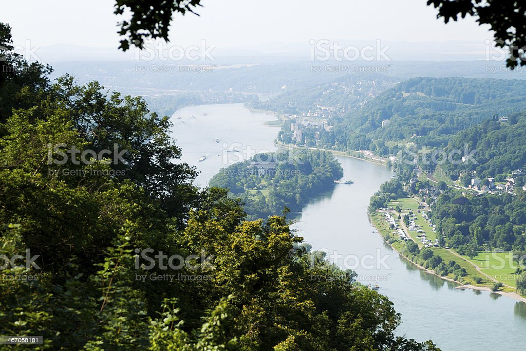 River Rhine royalty-free stock photo
