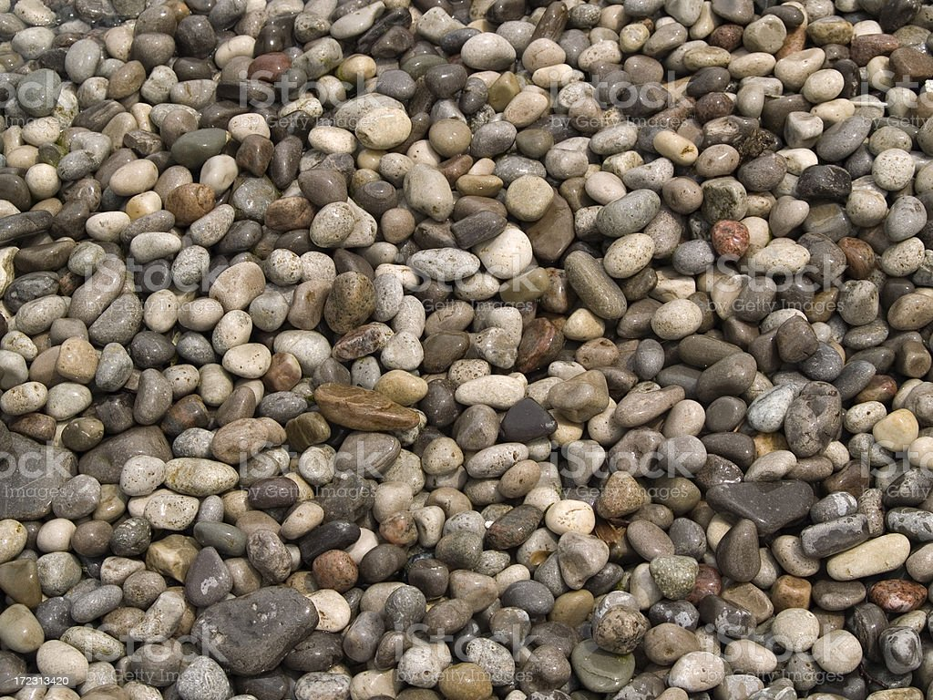 River Rocks, Background royalty-free stock photo
