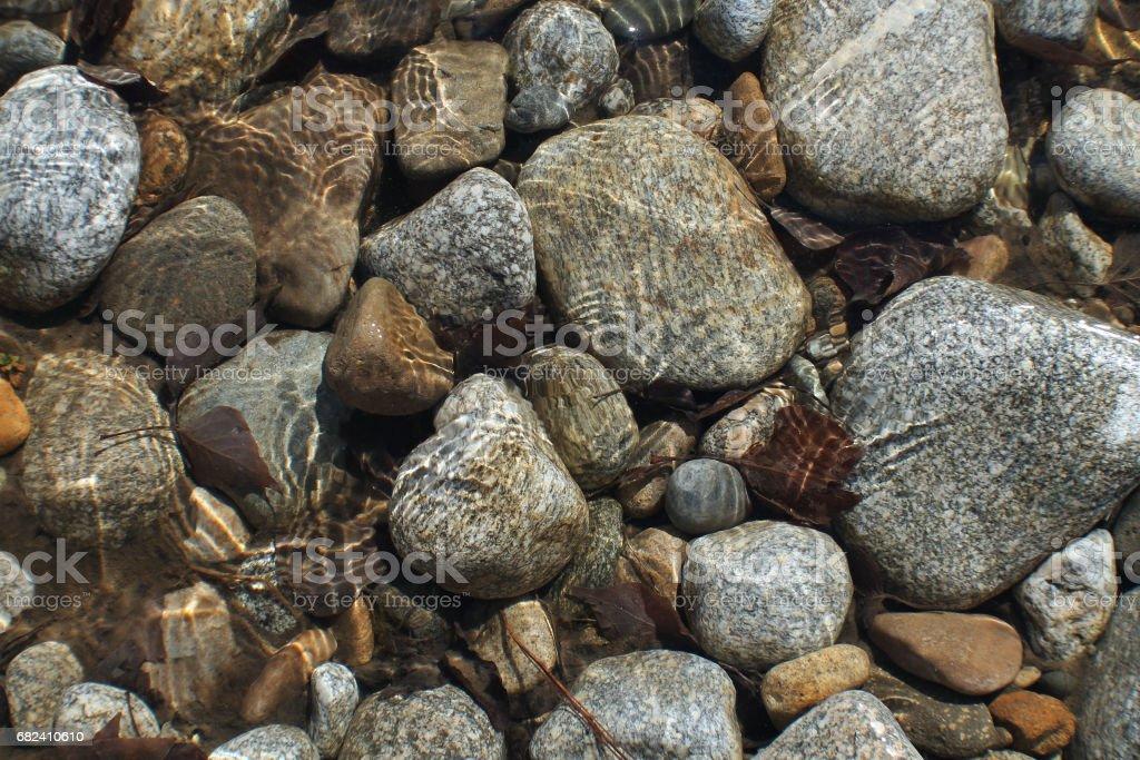 River Rocks royalty-free stock photo