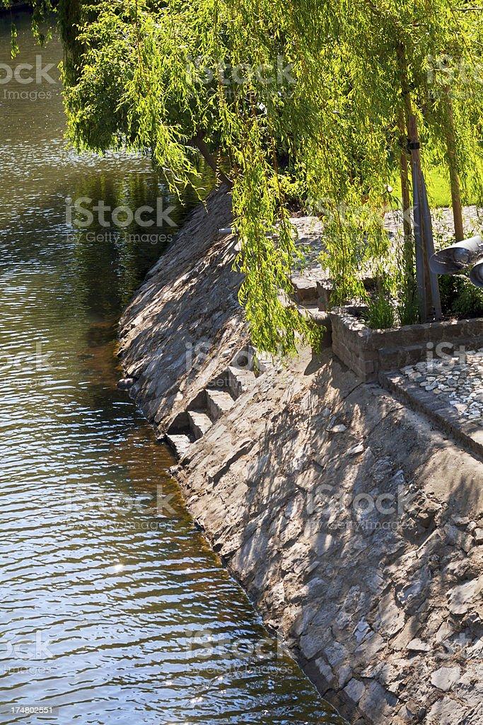 River Roer stock photo