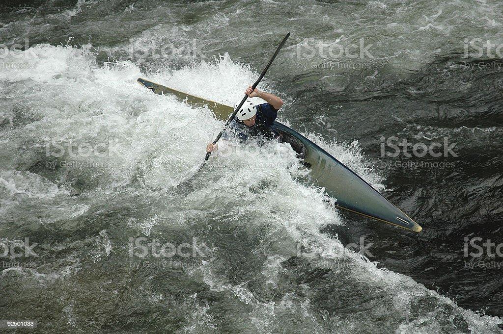 River Runner royalty-free stock photo