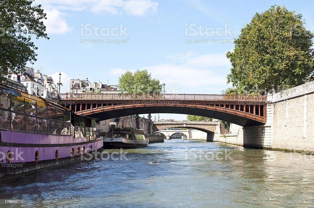 River Seine, Paris royalty-free stock photo