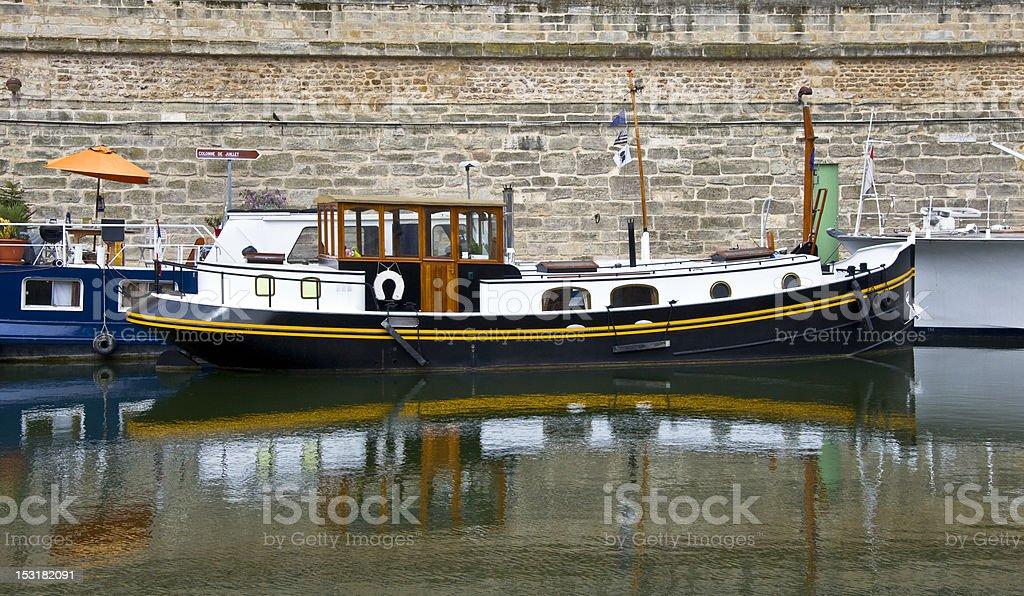 River Seine stock photo