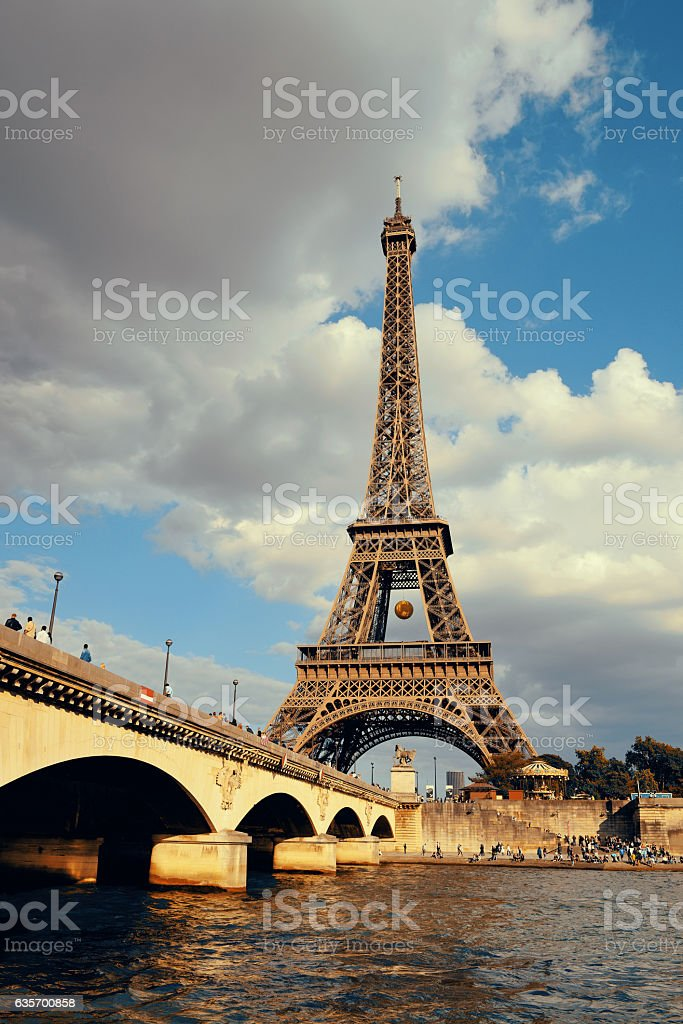River Seine royalty-free stock photo