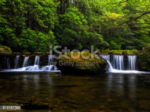 river shimna in tolleymore forest park,Newscastle Northern Ireland