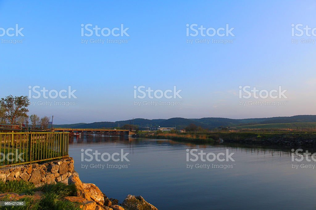 River sile istanbul royalty-free stock photo