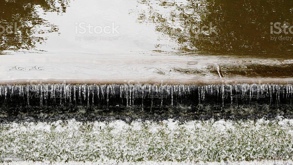 river sunlight stock photo