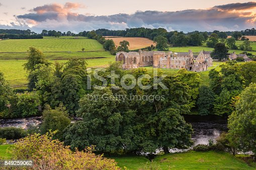 istock River Tees flows past Egglestone Abbey 849259062