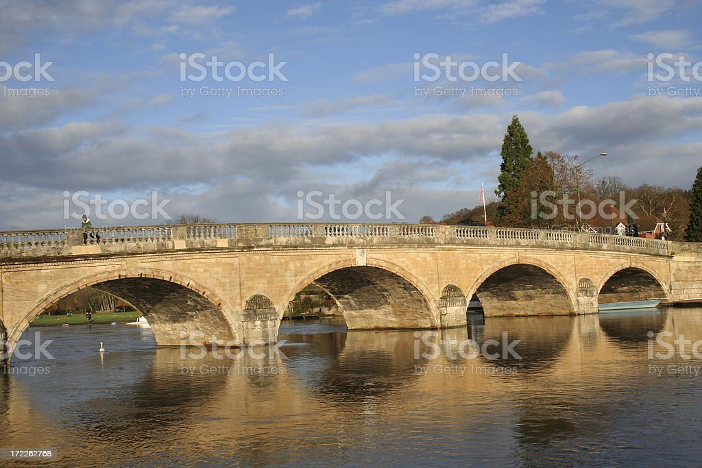 River Thames at Henley stock photo
