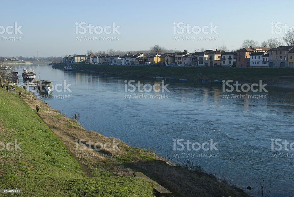 River Ticino royalty-free stock photo