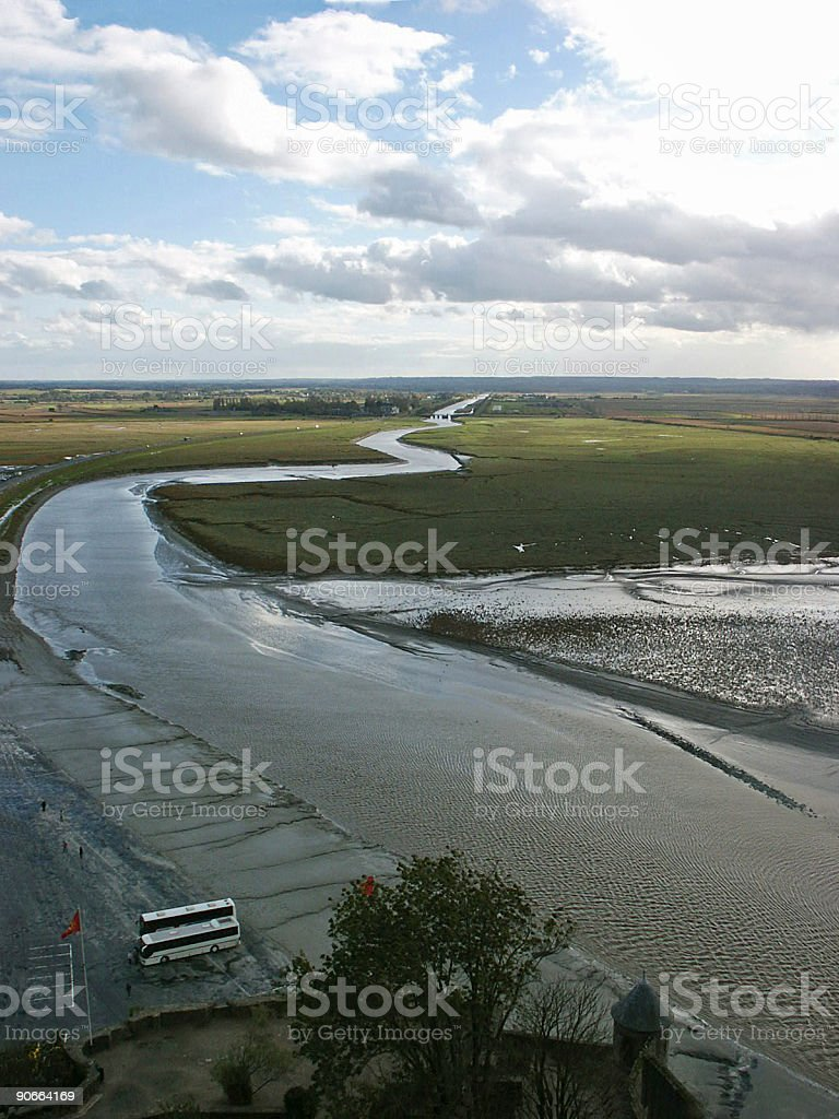 River to nowhere royalty-free stock photo