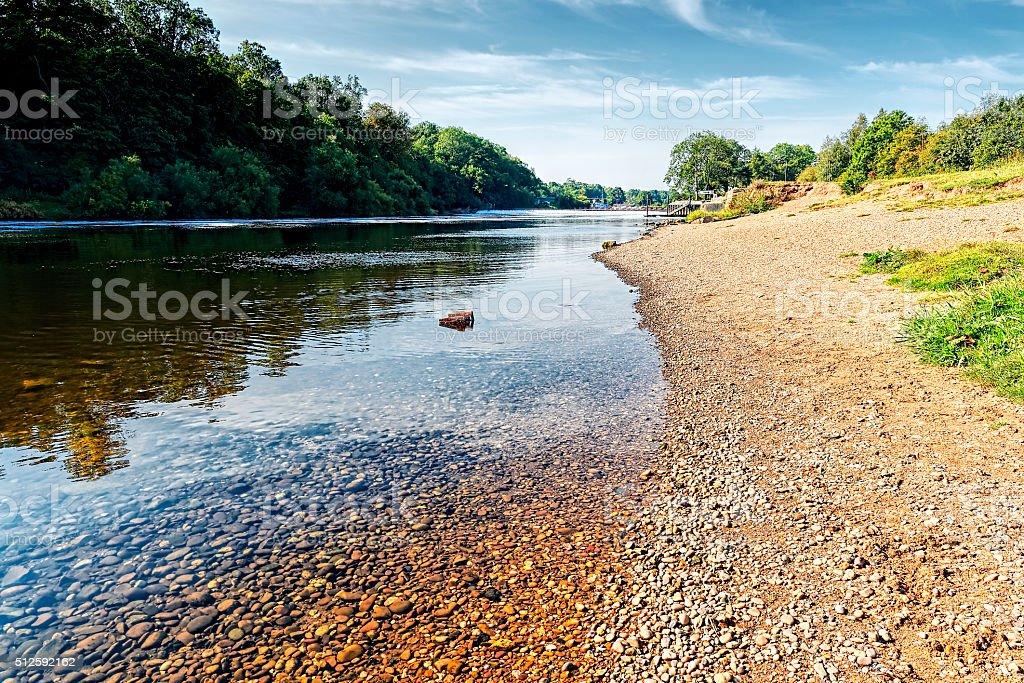 River Trent stock photo